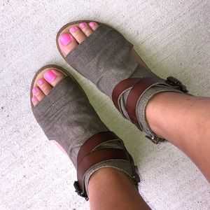 Blowfish Bombtastic Wedge Sandals